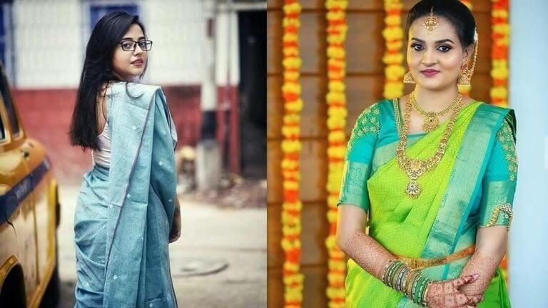 Saree Love Caption For Instagram, Saree Captions For Instagram, Caption For Saree Pic, Caption For Saree Girl, traditional saree quotes