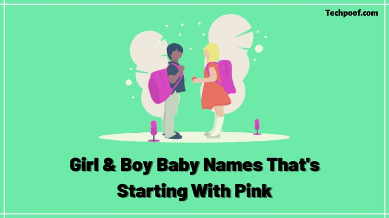 Name Starting With Pink